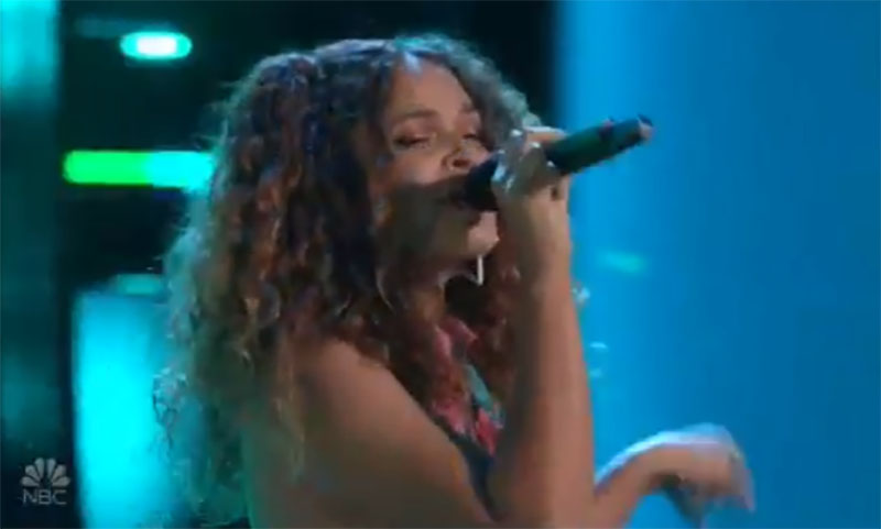 """Raquel Trinidad sings """"I Wish"""" on The Voice Blind Auditions 2021"""