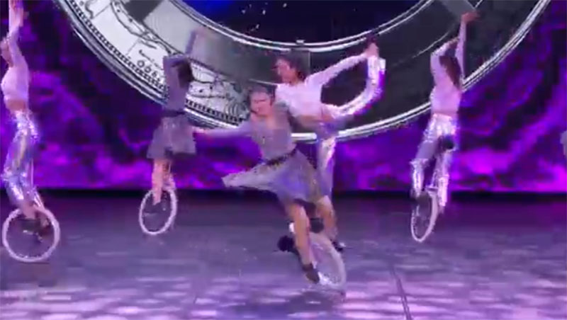 UniCircle Flow America's Got Talent 2021 AGT Semifinals Performance