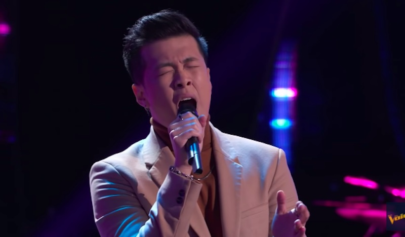 """Vaughn Mugol sings """"The A Team"""" on The Voice Blind Auditions 2021"""