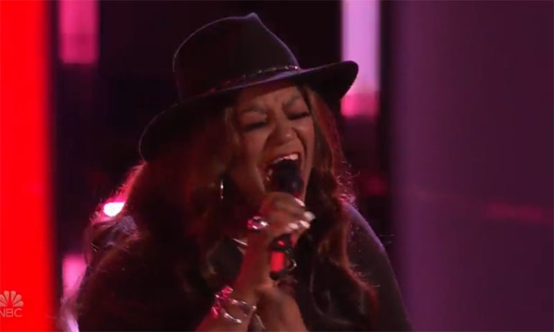 """Wendy Moten sings """"We Can Work It Out"""" on The Voice Blind Auditions 2021"""