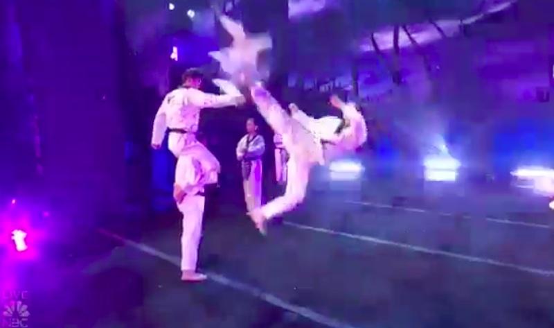 World Taekwondo Demonstration Team America's Got Talent 2021 AGT Semifinals Performance