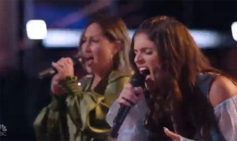 "Bella DeNapoli vs Katie Rae ""No More Tears (Enough Is Enough)"" The Voice Battles 2021"