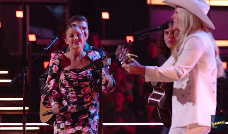 """Girl Named Tom vs Kinsey Rose """"Seven Bridges Road"""" The Voice Battles 2021"""