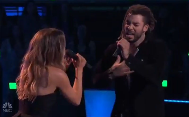 """Samuel Harness vs KJ Jennings """"I Know What You Did Last Summer"""" The Voice Battles 2021"""